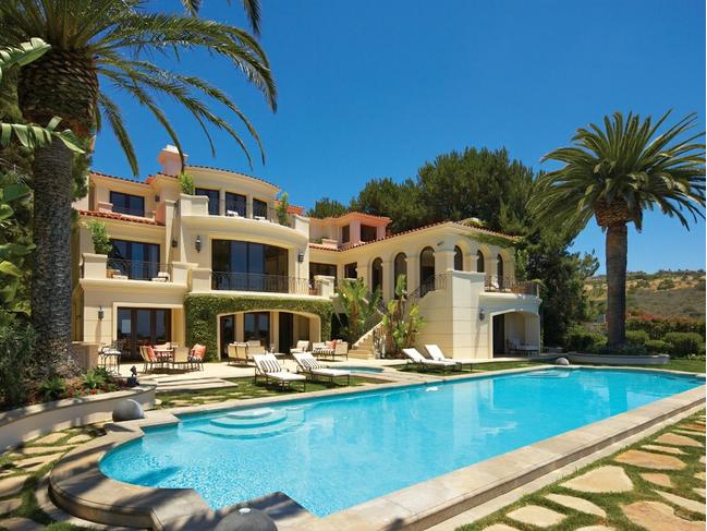 Stunning 16 9 Million Mediterranean Mansion In Newport
