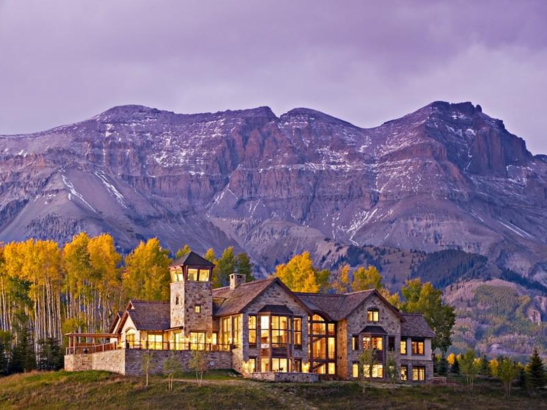 These 4 Mountaintop Mansions Are All Located In Telluride, CO. Which One Do  You Prefer?