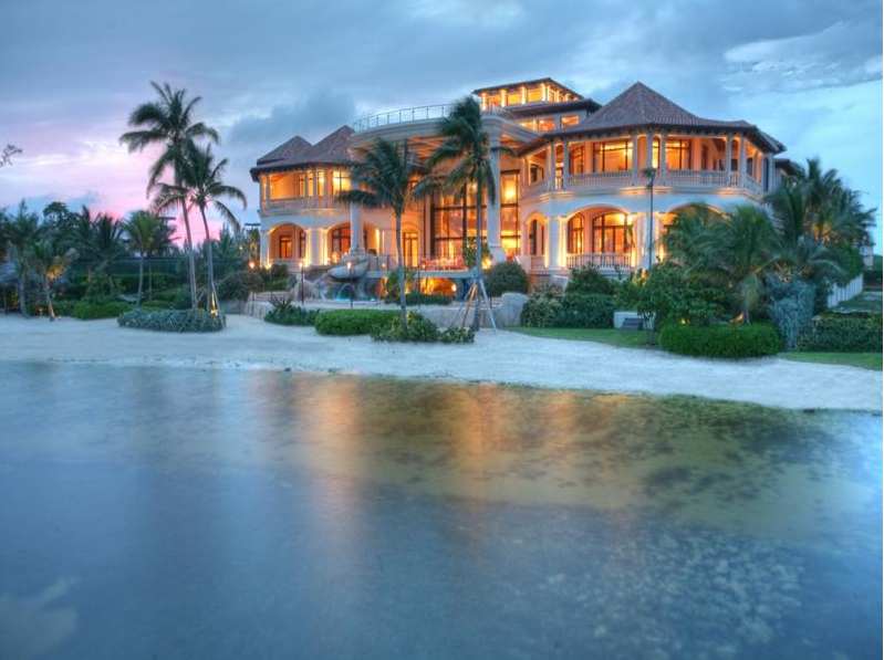 Poll which oceanfront mega mansion do you like best for Large beach house