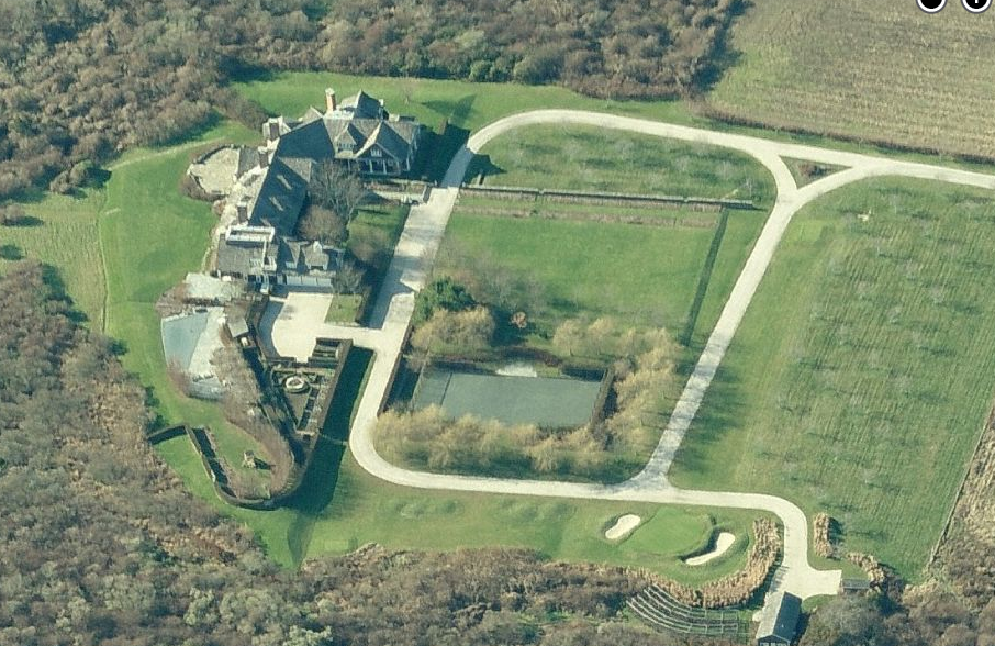Newly Listed $65 Million 33 Acre Estate In The Hamptons