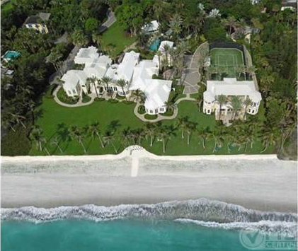 $22.5 Million 20,000 Square Foot Oceanfront Mansion In Hobe Sound, FL