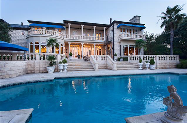 $7.5 Million 1983 European Inspired Mansion In Austin, TX