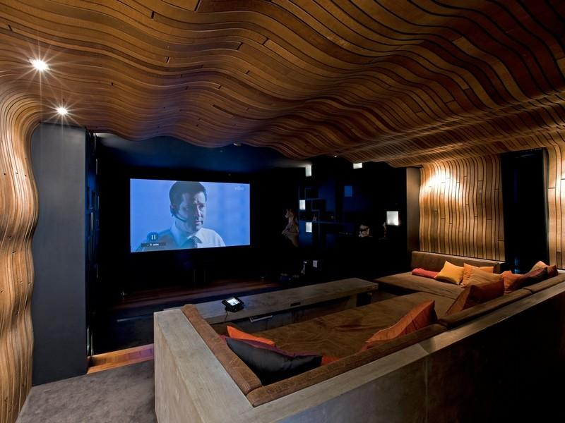 48 Million Private Estate In New Zealand Homes Of The Rich Simple Living Room Theater Portland Style