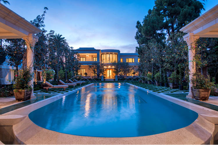 48 000 Square Foot Beverly Hills Mega Mansion For 58 Million HOTR