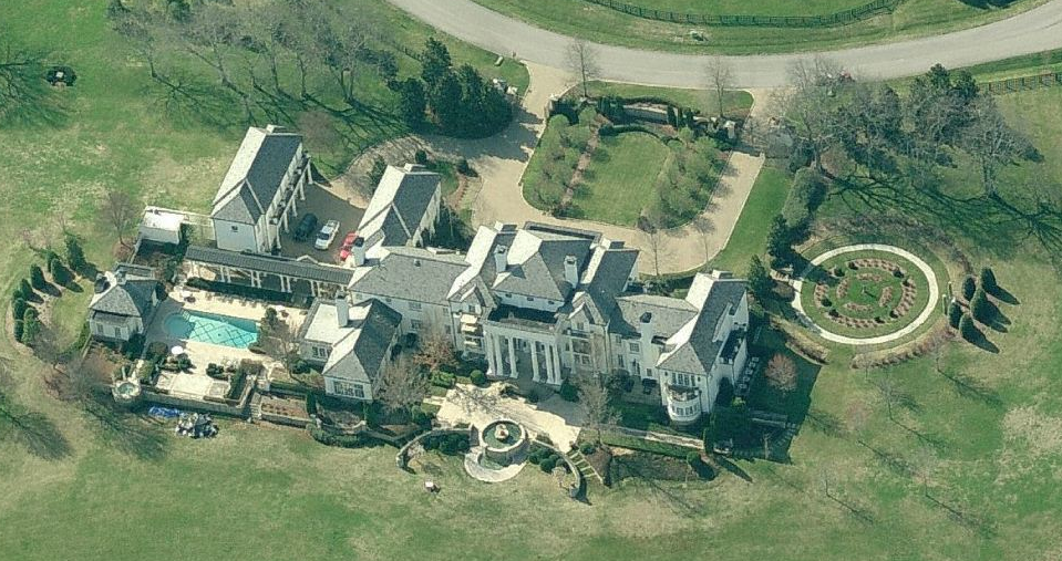$17.5 Million Gated Estate In Franklin, TN
