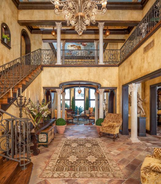 15 Phenomenal Mediterranean Exterior Designs Of Luxury Estates: $9.995 Million Mediterranean Inspired Waterfront Mansion