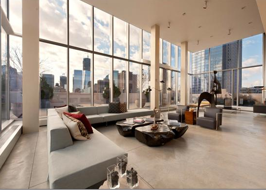 Beautiful This Striking Duplex Penthouse Is Located Atop An Historic Art Deco Loft  Building At 145 Hudson Street In New York, NY. There Is Approximately 7,500  Square ... Design Ideas