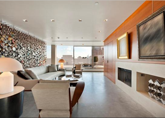 Delightful This Striking Duplex Penthouse Is Located Atop An Historic Art Deco Loft  Building At 145 Hudson Street In New York, NY. There Is Approximately 7,500  Square ... Great Pictures