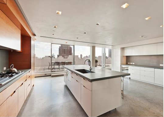 This Striking Duplex Penthouse Is Located Atop An Historic Art Deco Loft  Building At 145 Hudson Street In New York, NY. There Is Approximately 7,500  Square ...