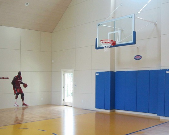 A Look At Some Private Indoor Basketball Courts From Houzz