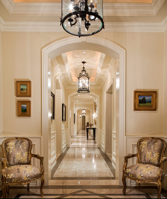 Look At Some Grand Foyers From Houzz Com: A Look At Some Amazing Hallways From Houzz.com