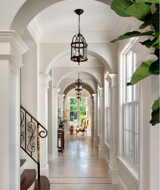 A Look At Some Amazing Hallways From Homes Of
