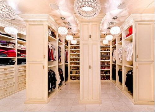 A Look At Some Master Closets From Homes Of The Rich