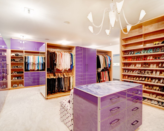 Amazing Modern Walk In Closet Closets From Houzz Com An Amazing Walk In Master Closet Is A Dream