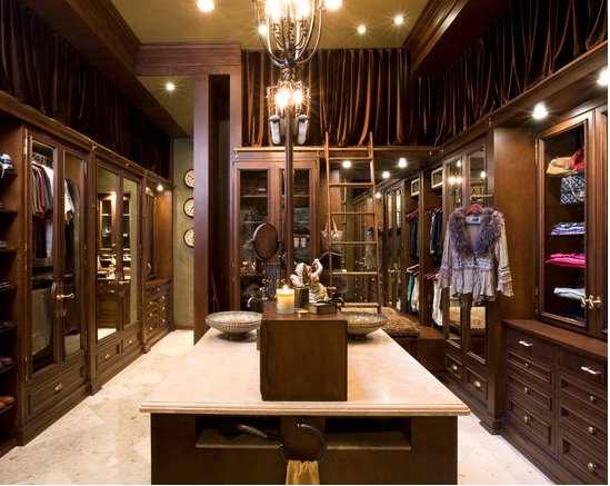 Luxury master bath suite traditional bathroom - A Look At Some Master Closets From Houzz Com Homes Of