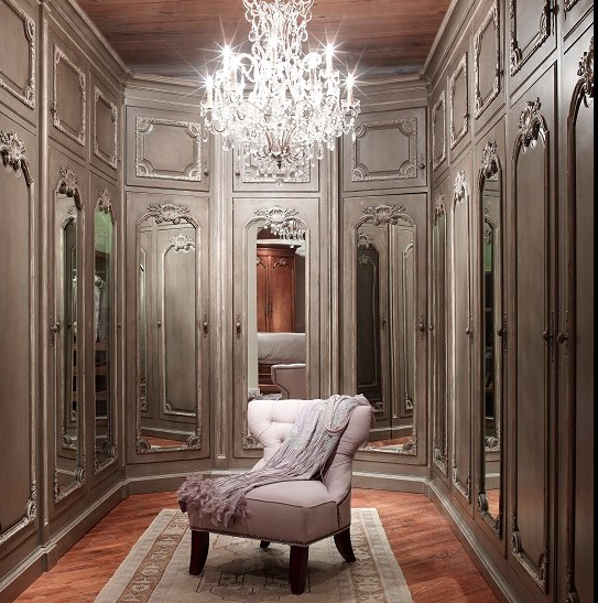 A look at some master closets from homes of - Houzz master bedroom walk in closets ...