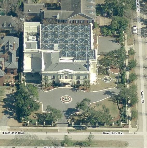 Houston Mansion With Amazing 12,000 Square Foot Natatorium