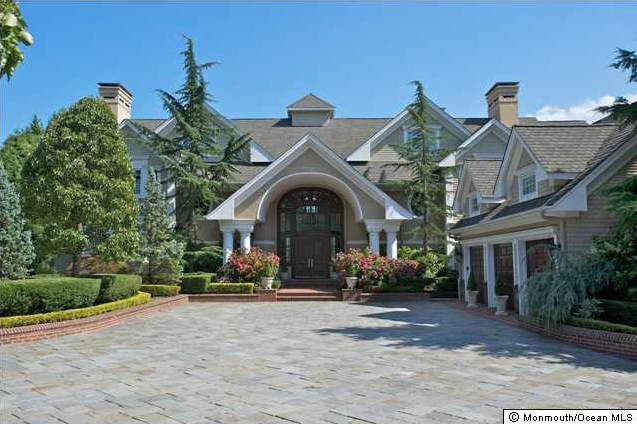 8 95 Million Waterfront Mansion In Middletown Nj Homes