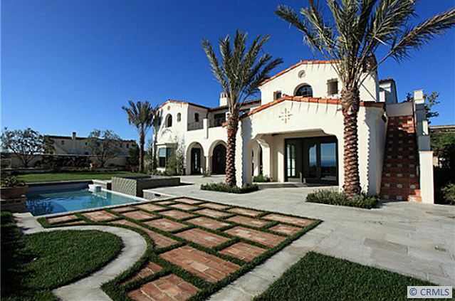 Newly Built 14 9 Million Santa Barbara Style Mansion In