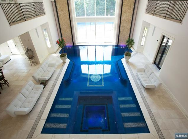 Yet another pricey mansion has hit the market in Saddle River  NJ  This  newly built 24 room stone mansion is located at 105 Chestnut Ridge Road and  is. 19 Million Newly Built 25 000 Square Foot Mansion In Saddle River