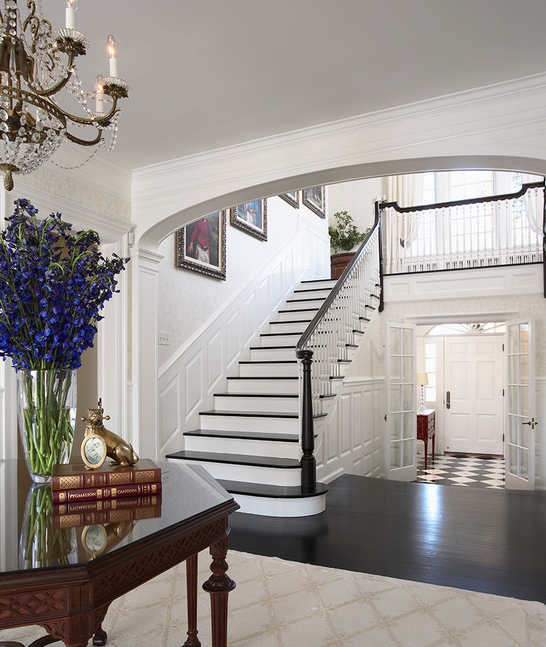 Beautiful Front Hall And Staircase: A Look At Some Grand Foyers From Houzz.com