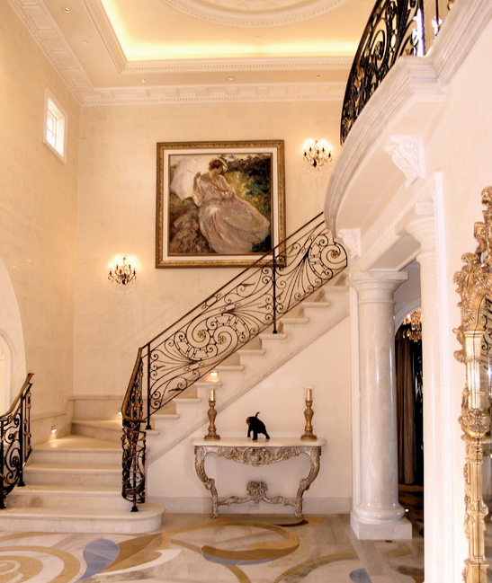 Houzz Elegant Foyers : A look at some grand foyers from houzz homes of the rich