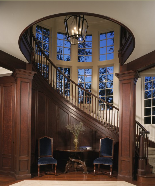 Grand Foyer Houzz : A look at some grand foyers from houzz homes of the rich