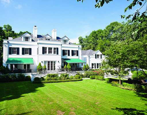 $10.5 Million Stately Georgian Colonial In Greenwich, CT