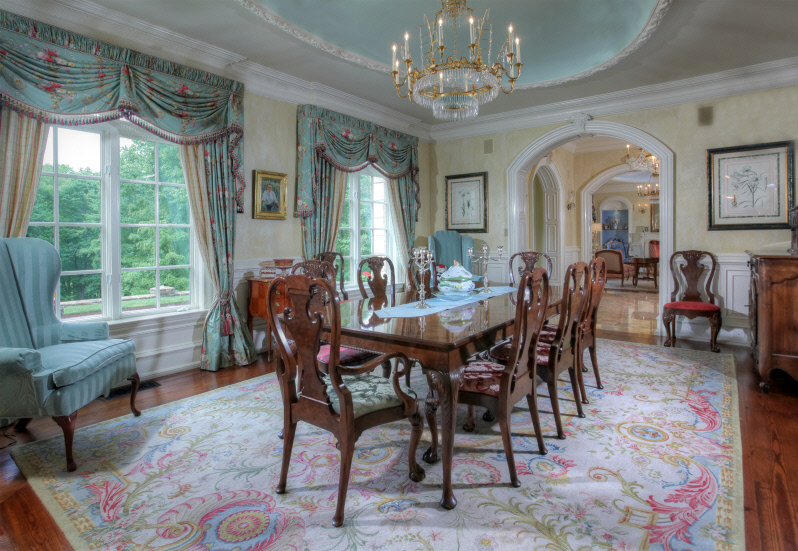 This Elegant Hillside French Country Mansion Is Located At 8 Chapel Lane In Mendham NJ And Situated On A Little Over 9 Acres