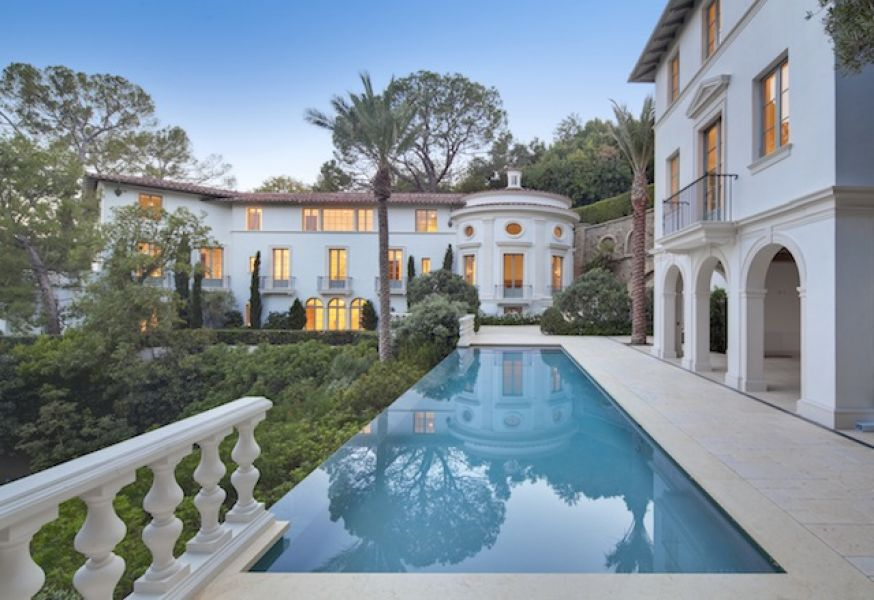 Newly Built 18 000 Square Foot Bel Air Mansion On The