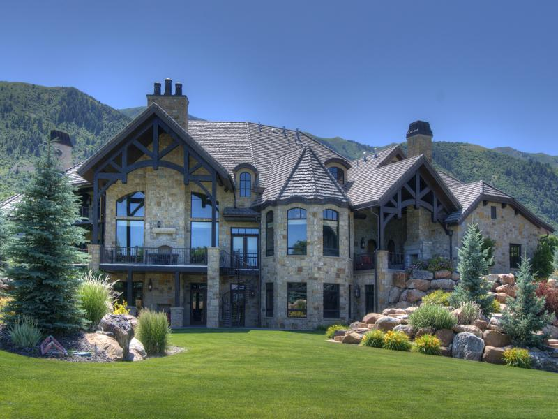 14 700 square foot utah mansion on 26 acres homes of the for Utah house
