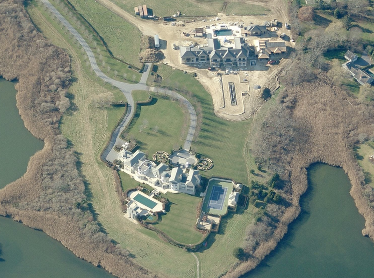 Estate In Water Mill, NY With TWO Huge Mansions