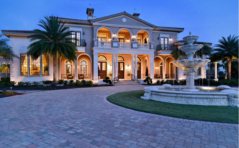 16 5 million 30 000 square foot mega mansion in bradenton for Florida estates for sale