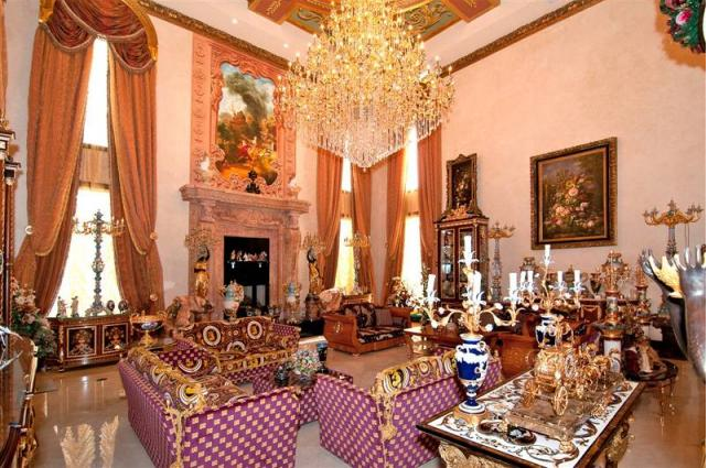 Gaudy 25 000 Square Foot Mega Mansion In Southwest Ranches