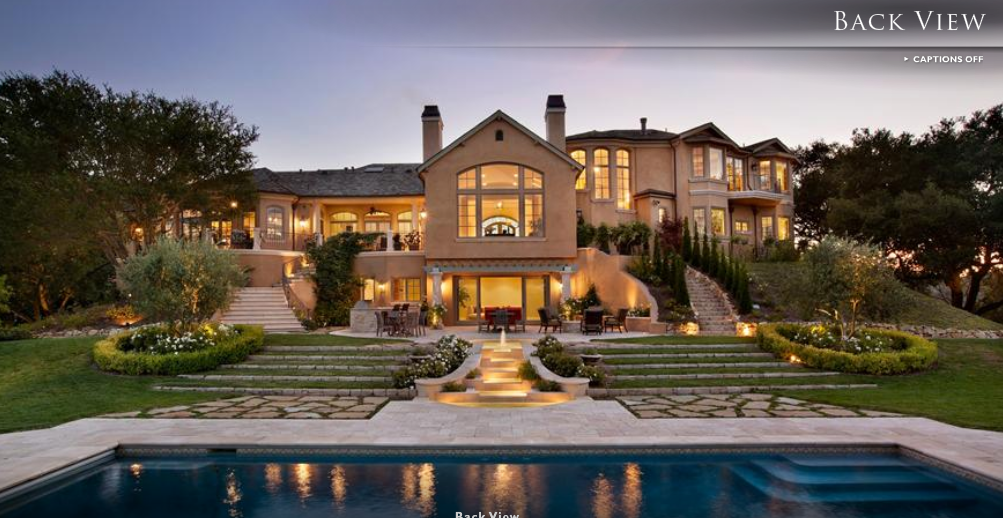 $19.8 Million European Inspired Estate In Los Altos, CA
