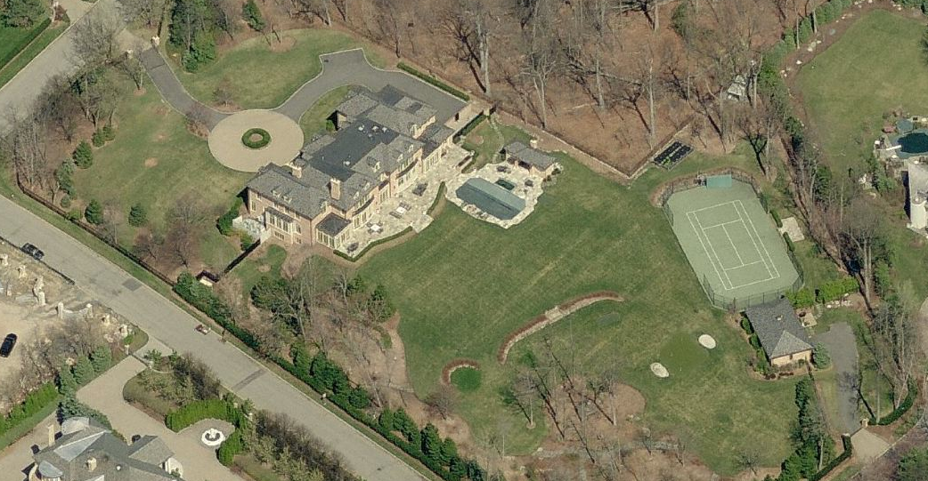 Newly Listed $18.5 Million 22,000 Square Foot Colonial In Alpine, NJ