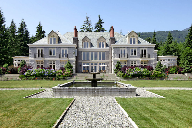 22,000 Square Foot Mansion In British Columbia With Indoor Swimming Pool
