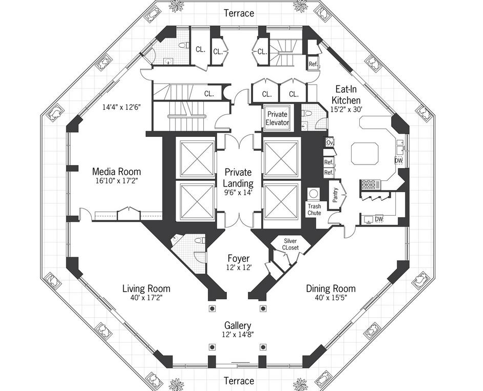 15 harmonious octagon shaped house plans house plans 49691