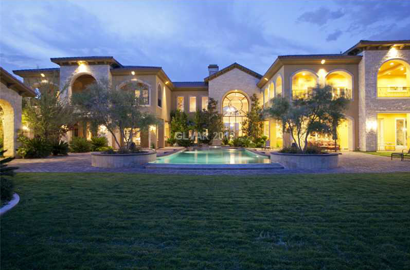 16,000 Square Foot Las Vegas Mansion