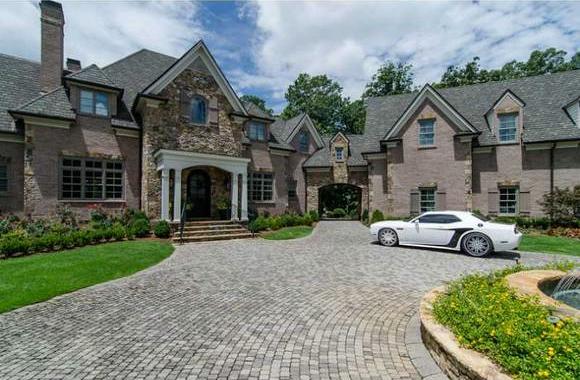 Former Atlanta Hawk Joe Johnson Lists Atlanta Mansion