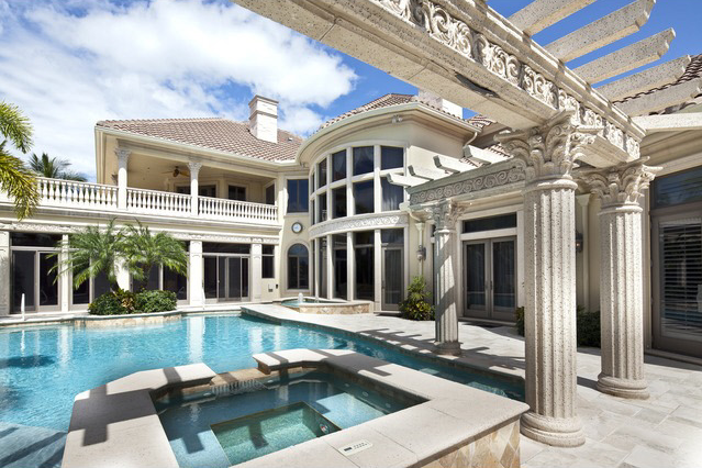 7 995 Million Country Club Mansion In Naples Fl Homes