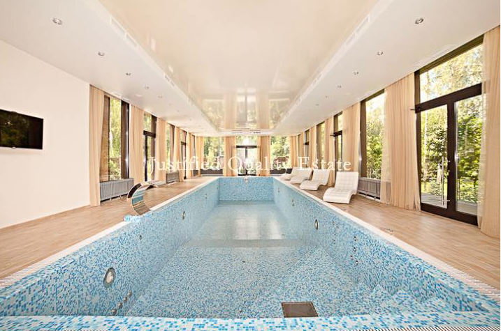 22,000 Square Foot Contemporary Mansion In Russia With Indoor Pool