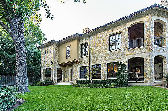 13,500 Square Foot Italian Inspired Stone Mansion In Dallas, TX