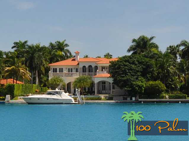 $23.4 Million Mediterranean Waterfront Mansion In Miami Beach, FL