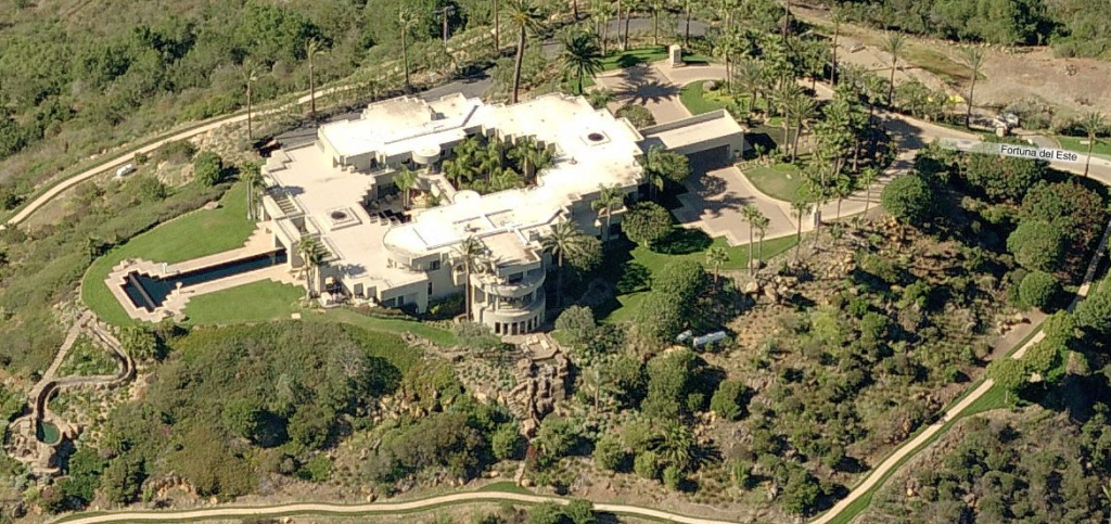25,000 Square Foot Mountaintop Contemporary Mega Mansion In ...