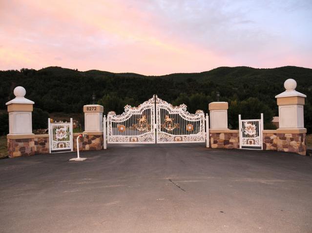 Businessman s 50 000 square foot utah mega mansion on the for 50000 house