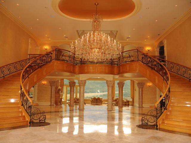 Businessman Square Foot Utah Mega Mansion The Market For Million Homes Rich