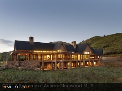 $50 Million 25,000 Square Foot Contemporary New Build In Snowmass Village, CO