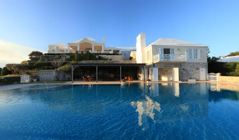 Chelston – A 14 Acre Beachfront Estate In Bermuda