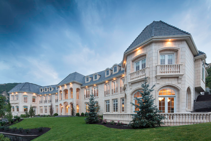 20 000 square foot newly built mega mansion in draper ut Building a house in utah